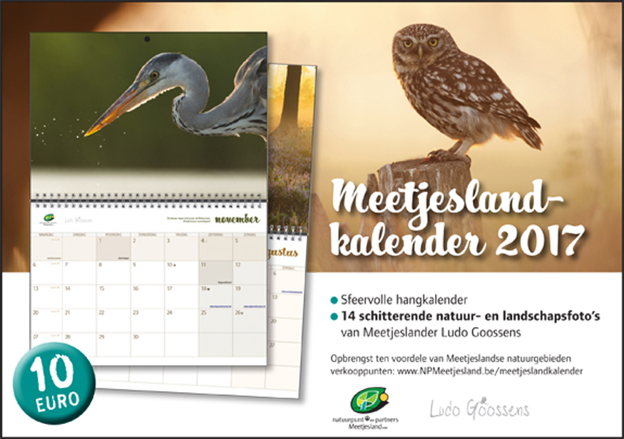 Advertentie meetjeslandkalender